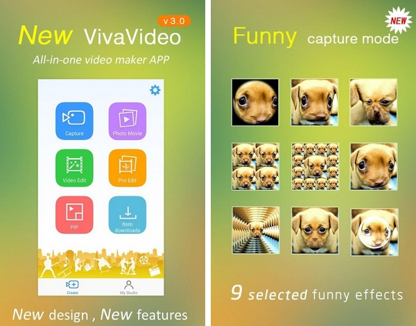 VivaVideo : Video Editor for iPhone and Android