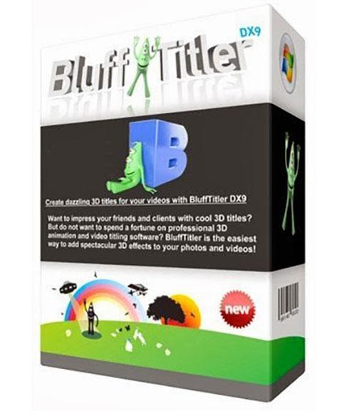 BluffTitler Windows Desktop application