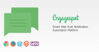 Send Web Push Notifications to your website visitors and increase repeated  traffic using Engagespot
